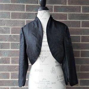 Adrianna Papell Black Bolero Jacket
